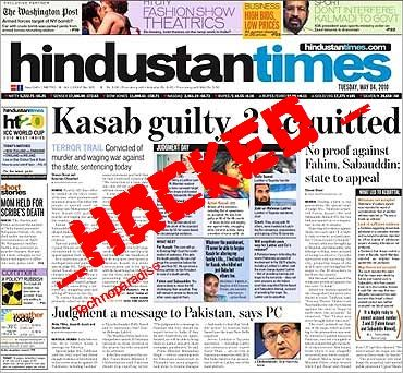 HindustanTimes.com Hacked By Silent Hacker