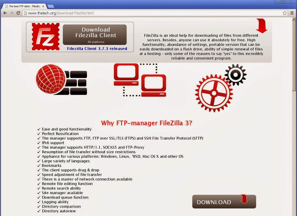 Malicious version of FTP Software FileZilla stealing users' Credentials