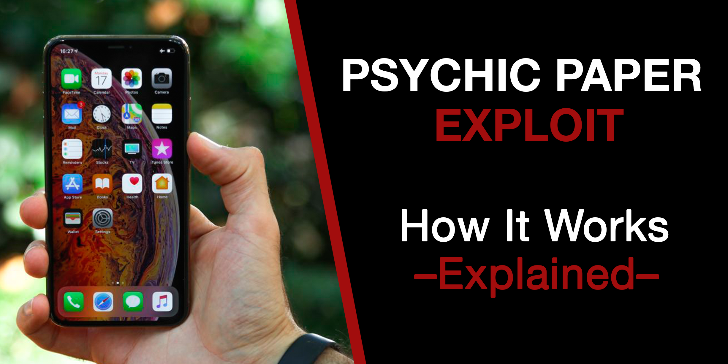 New Zero-Day Psychic Paper Exploit Allows Access to your Entire iPhone