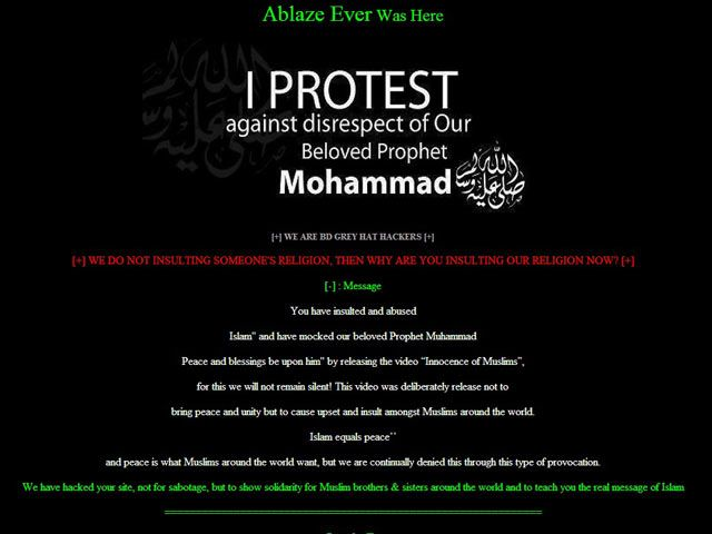 Two Government websites Hacked