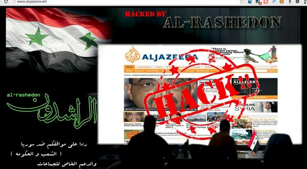 Al Jazeera News network website Hacked