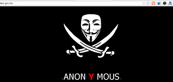 Kuwaiti Ministry of Awqaf and Islamic Affairs Hacked by Anonymous