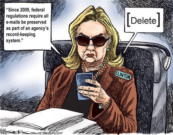 Hillary Clinton Email Company Hacked