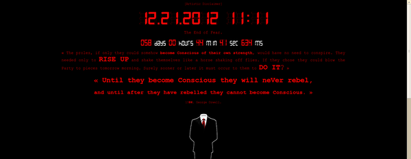 Anonymous: Project Mayhem 2012 - Code TYLER