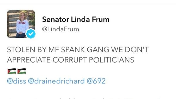 Canadian Senator - Linda Frum Twitter account hacked