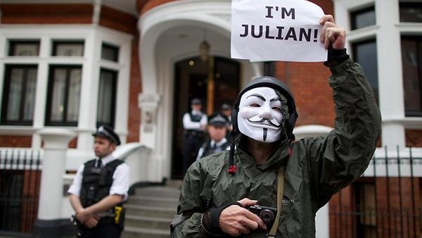 Anonymous to hack UK Ministry